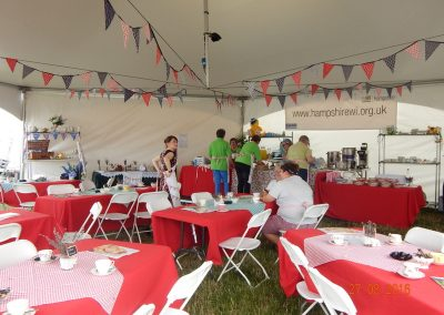 Hex Marquee Decorated at Carfest